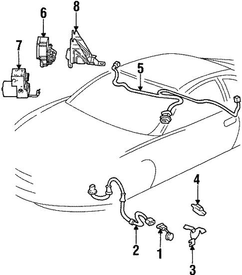 Oldsmobile Abs Control Module Control Module Part 12226952