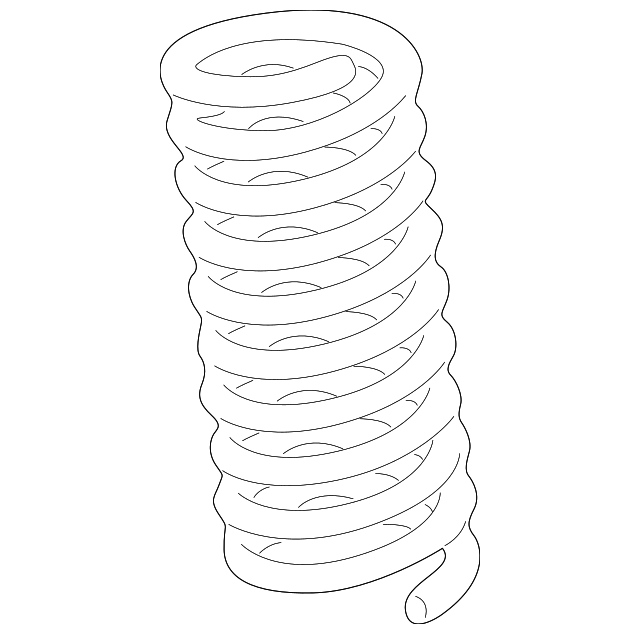 Genuine Mercedes Benz Coil Spring 210 321 12 04