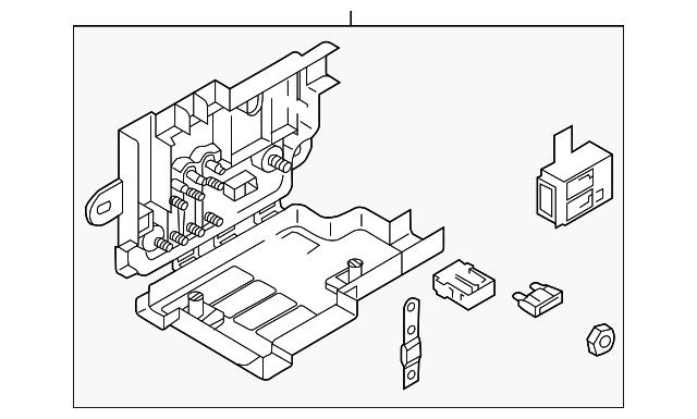 volkswagen fuse box 561 937 548 for sale suburban auto. Black Bedroom Furniture Sets. Home Design Ideas