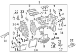 AC & Heater Assembly - Kia (97205-S9020)