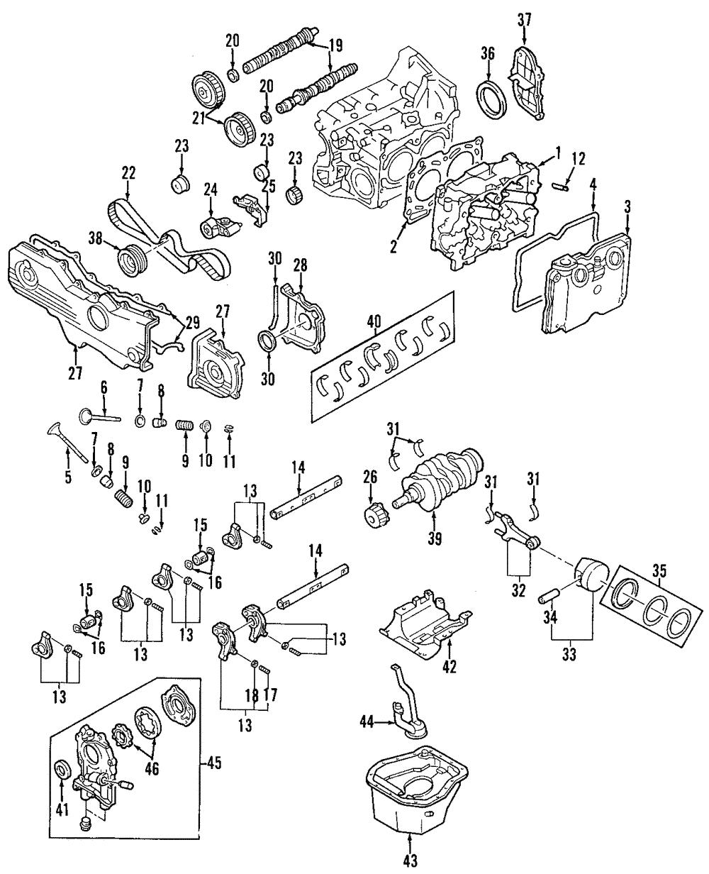 Subaru Head Diagram   Fusebox and Wiring Diagram component have ...