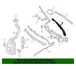 Wiper Arm - Mercedes-Benz (176-820-00-44)