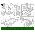 Oil Filter Housing Gasket - Mazda (PE01-14-342)