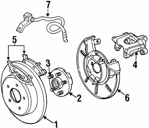 rear brakes for 1999 dodge grand caravan #3