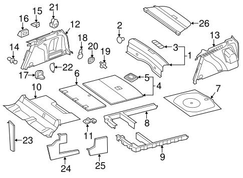 Jetta Body Parts Diagram
