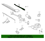 Wiper Arm - Volkswagen (3B1-955-409)