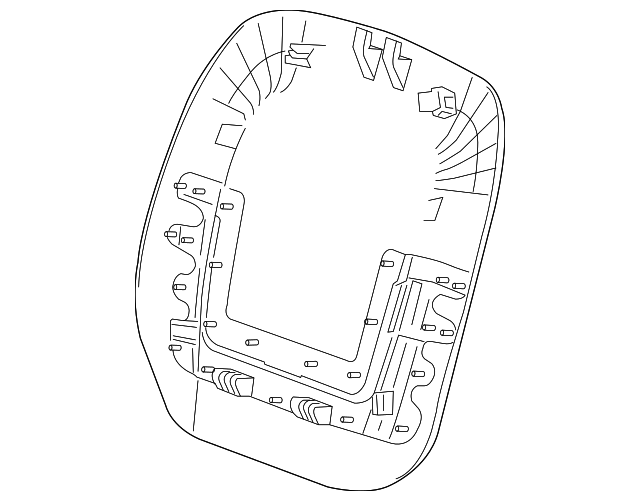 2012 2014 Buick Verano Seat Back Panel 20982465