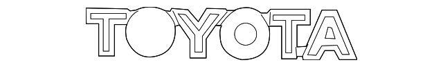 TOYOTA 75471-04040-D1 Nameplate