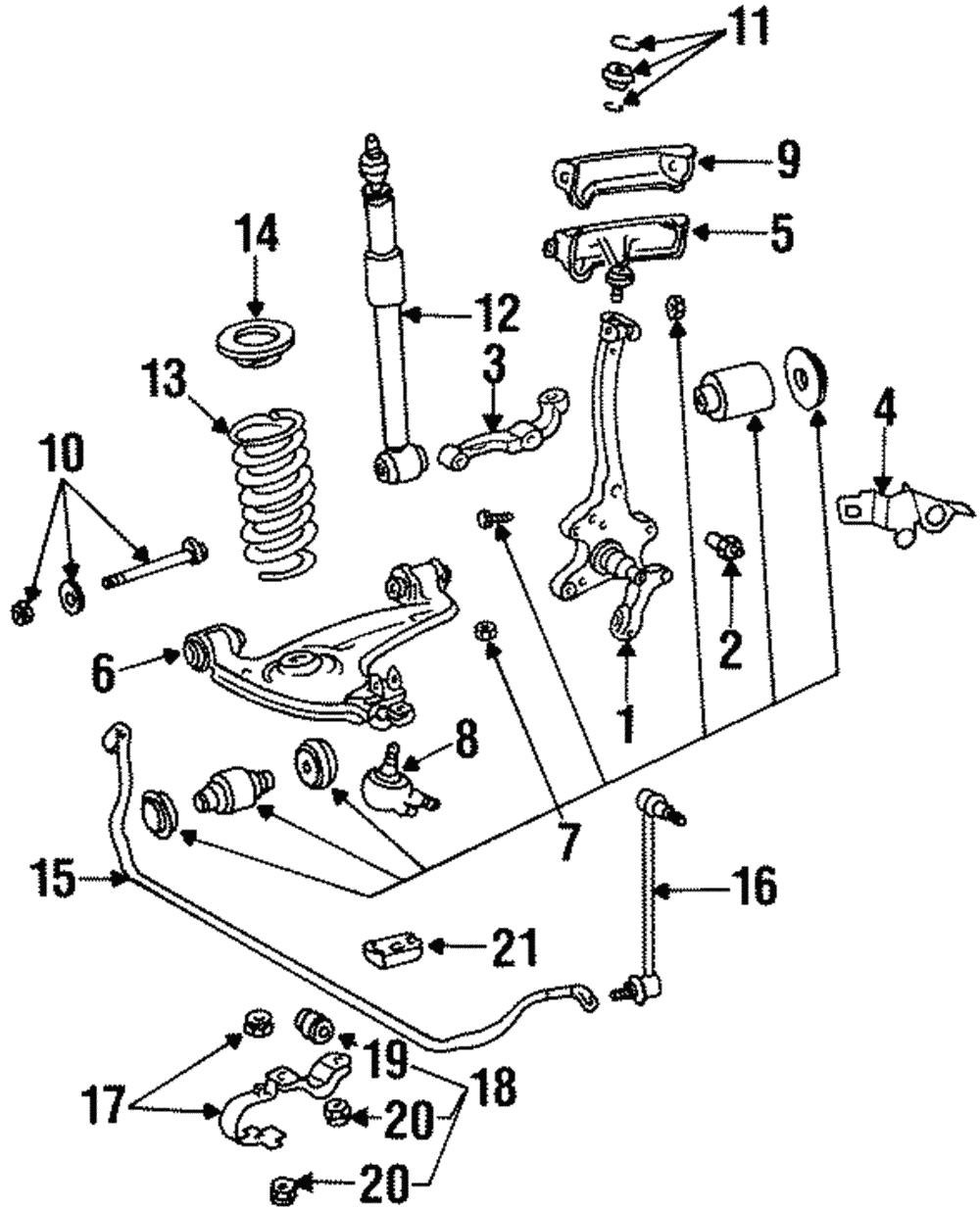 Mercedes-Benz 221 320 04 11 Suspension Stabilizer Bar