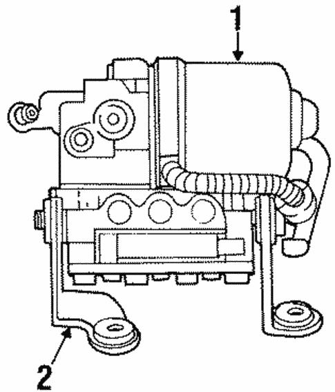Anti Lock Brakes For 1997 Jeep Grand Cherokee