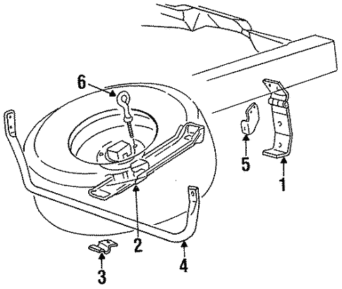 Carrier Components For 1997 Ford Ranger