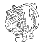 Alternator - Land-Rover (LR072764)