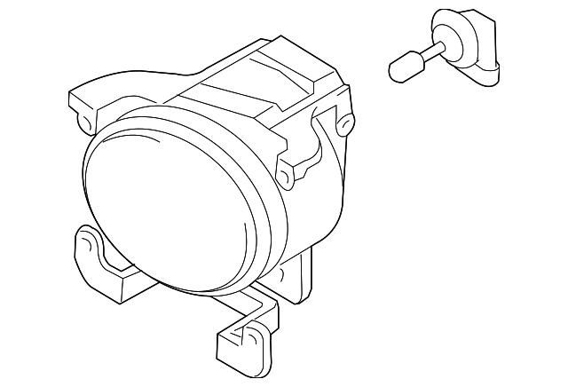 Fog Lamp Assembly Leftdriver