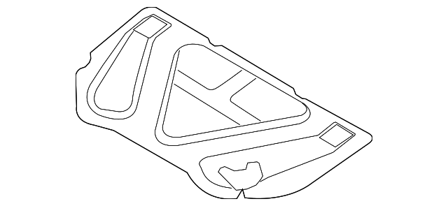 2006 2011 Hyundai Azera Insulator 81125 3l010