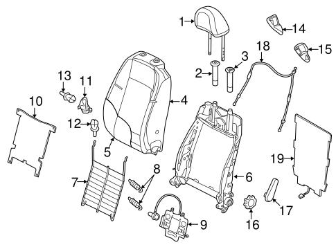Front Seat Components For 2017 Volkswagen Beetle