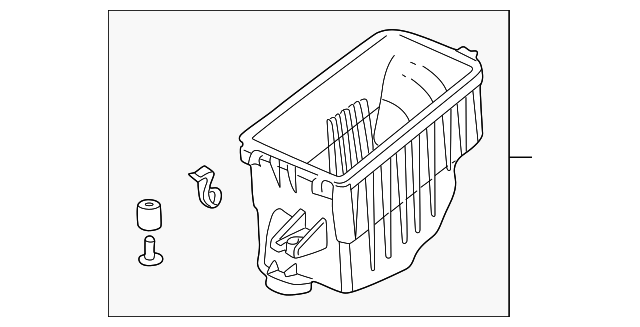 Case Set, Air Cleaner