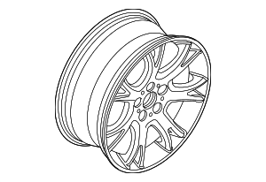 Wheel, Alloy - BMW (36-10-3-451-879)