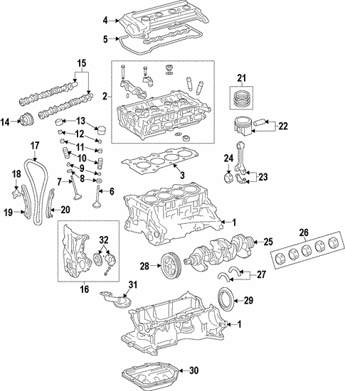 Engine for 2013 Hyundai Accent #0