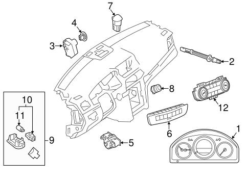 Controls For 2013 Mercedes Benz C 300