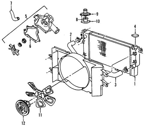 Radiator Components For 2005 Dodge Ram 3500