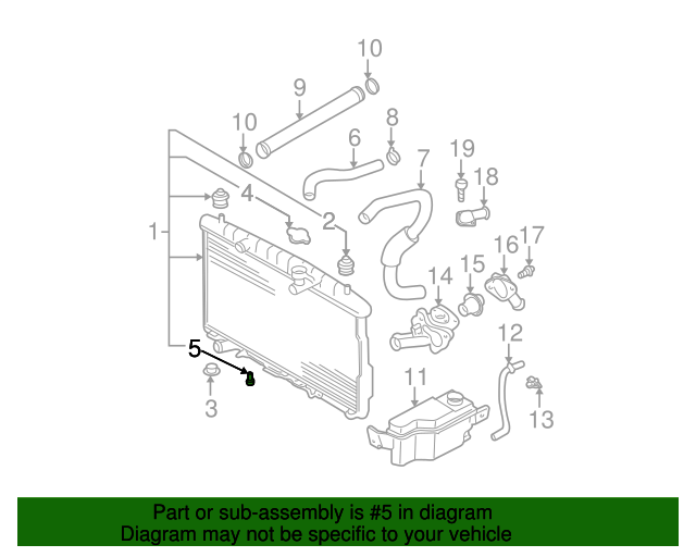 car elantra auto cooling mt radiator for brazed hyundai