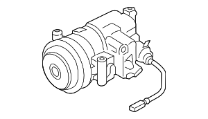 Compressor Assembly - Porsche (9P1-820-803-DX)