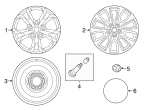 Wheel, Alloy - Mazda (9965-F3-6560)