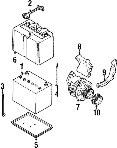 Battery For 1994 Infiniti J30