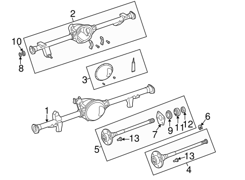 Axle Housing For 2003 Jeep Wrangler