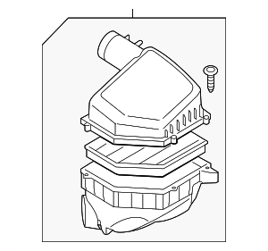 Air Cleaner Assembly - Volvo (31338030)