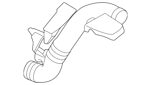 Volvo Outlet Duct 31305036