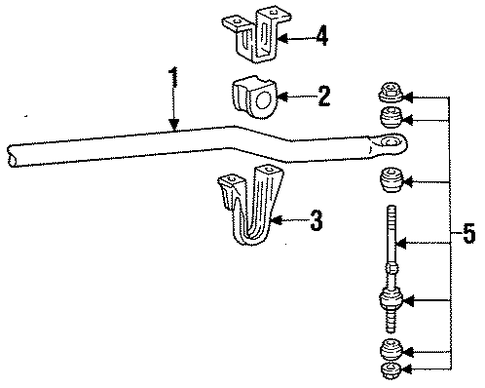 Ford Support Cover 8l2z8c299a furthermore Radiator Support Scat together with Ford Resonator And Pipe Insulator 2m5z5a262a furthermore Ford 7 3 Vacuum Parts Diagram also Ford Upper Pipe Xw4z8a520af. on 6 4 powerstroke sensor front