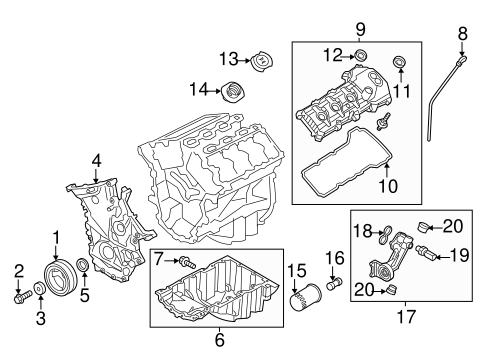 Engine Parts For 2013 Ford Mustang Tascaparts Com