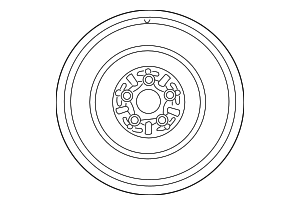 Wheel, Spare - Toyota (42611-75101)