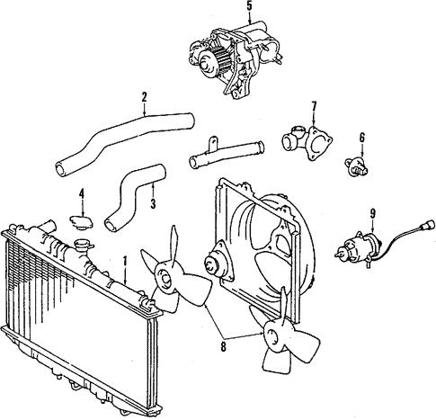 Toyota 16535-64050 Radiator