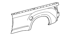 Outer Panel - Toyota (65816-0C140)