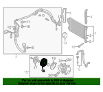 PULLEY Assembly-A/C COMPRESSOR