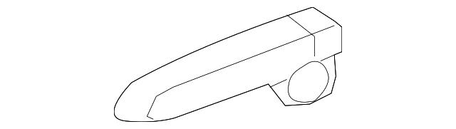 Honda Genuine 81647-SNA-A11ZJ Seat Reclining Cover
