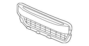 Grille, Front Bumper (Lower) - Honda (71105-TS9-A01)