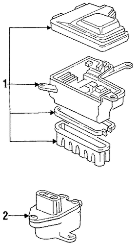 Box Assembly, Relay