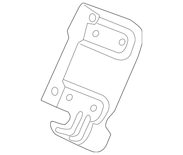 2014-2020 Acura RLX SEDAN Bracket, R Radio 39111-TY2-000