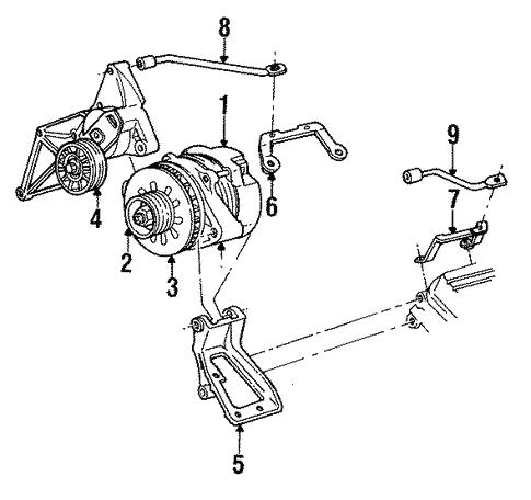 Alternator For 1996 Buick Lesabre