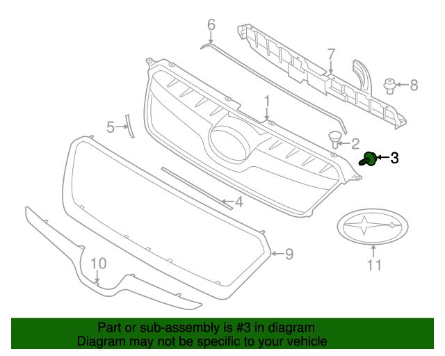 Genuine Subaru Parts: 2014 Subaru Crosstrek Parts Diagram At Scrins.org