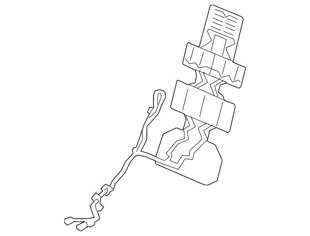 Honda Heater R Front Seat Back 81124 Tva L21