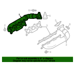 Exhaust Manifold - Audi (059-253-034-BP)