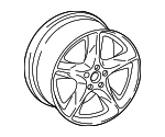 Wheel, Alloy - Audi (4M0-601-025-AC)