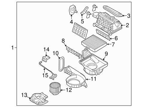 entourage hvac blower motor fan parts entourage 2007. Black Bedroom Furniture Sets. Home Design Ideas