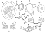 Steering Wheel - BMW (32-30-6-866-468)