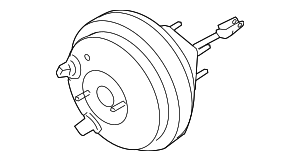 Brake Booster - Nissan (47210-ZS60C)