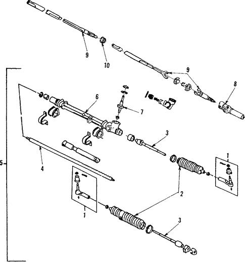 oem 1987 pontiac fiero steering column assembly parts rh gmpartsonline net